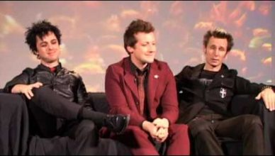 Green Day Interview at The Interview Ninja