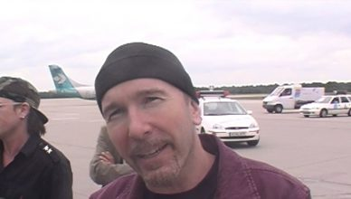 U2 Press Conference Airport Cologne - The Interview Ninja